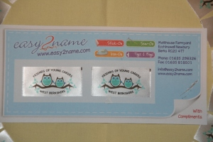 Our new logo labels!