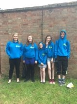 Young Carers in their new hoodies.